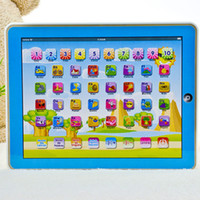 Wholesale Computer Toys Spanish - Spanish Language Children kid's toy comupter laptop computer letters early Learning machine toys