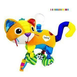 Wholesale Hanging Toys Lamaze - Lamaze infant plush toy colorful rattles happy CAT hanging baby bed bells toys