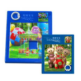 Wholesale Garden Night Toy Kids - In The Night Garden Baby intelligence jigsaw kids plastic puzzles game toys