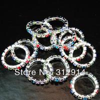 Wholesale Toe Rings Stones - Wholesale Jewerly Lots 12pcs Full Czech Rhinestones Toe Rings Fashion free shipping
