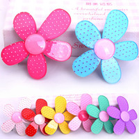 Wholesale Selling Barrettes - Acrylic boutique barrette side-knotted clip hot-selling child hair clips hair accessory hair accessory 50pcs lot