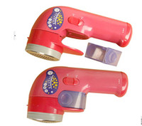 Wholesale Lint Shaver Wholesale - New Cordless Fabric Clothes Pill Lint Shaver Fuzz Remover Roller Portable 100pcs
