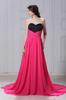 Rose&Black Strapless Party Dresses Evening Dresses Prom Pageant Dresses SZ 2-6-10 12-18 HE1227041