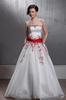 White Embroidery Beads Party Dresses Evening Dresses Prom Pageant Dresses SZ 2-6-10 12-18 HE1227046