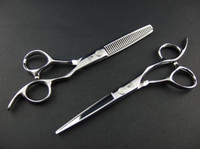 Wholesale Thinning Scissors Kit - HIKARI Hair Scissors JP440C Cutting & Thinning Scissors suit with case 6.0 INCH and 5.5 INCH for choose NEW