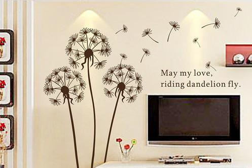 Wholesale Including Handmade Items - Buy Dandelion Vine Large ... - Handmade Wall Art Stickers