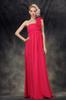 Hot Pink One-Shoulder Evening Dresses Party Dresses Prom Pageant Dresses SZ 2-6-10 12-18 HE1227053