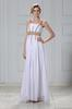 White Staps Beads Evening Dresses Party Dresses Prom Pageant Dresses SZ 2-6-10 12-18 HE1227060