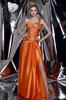 Orange Split Beading Evening Dresses Party Dresses Prom Pageant Dresses SZ 2-6-10 12-18 HE1227065
