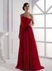 Red One-Shoulder Evening Dresses Party Dresses Prom Pageant Dresses SZ 2-6-10 12-18 HE1227069