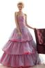 Pink&Blue Organza Evening Dresses Party Dresses Prom Pageant Dresses SZ 2-6-10 12-18 HE1227077