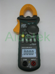 Dc caps online-New MS2108A 4000 AC DC Current Clamp Meter retroilluminato Frq Cap CATIII vs FLUKE hol