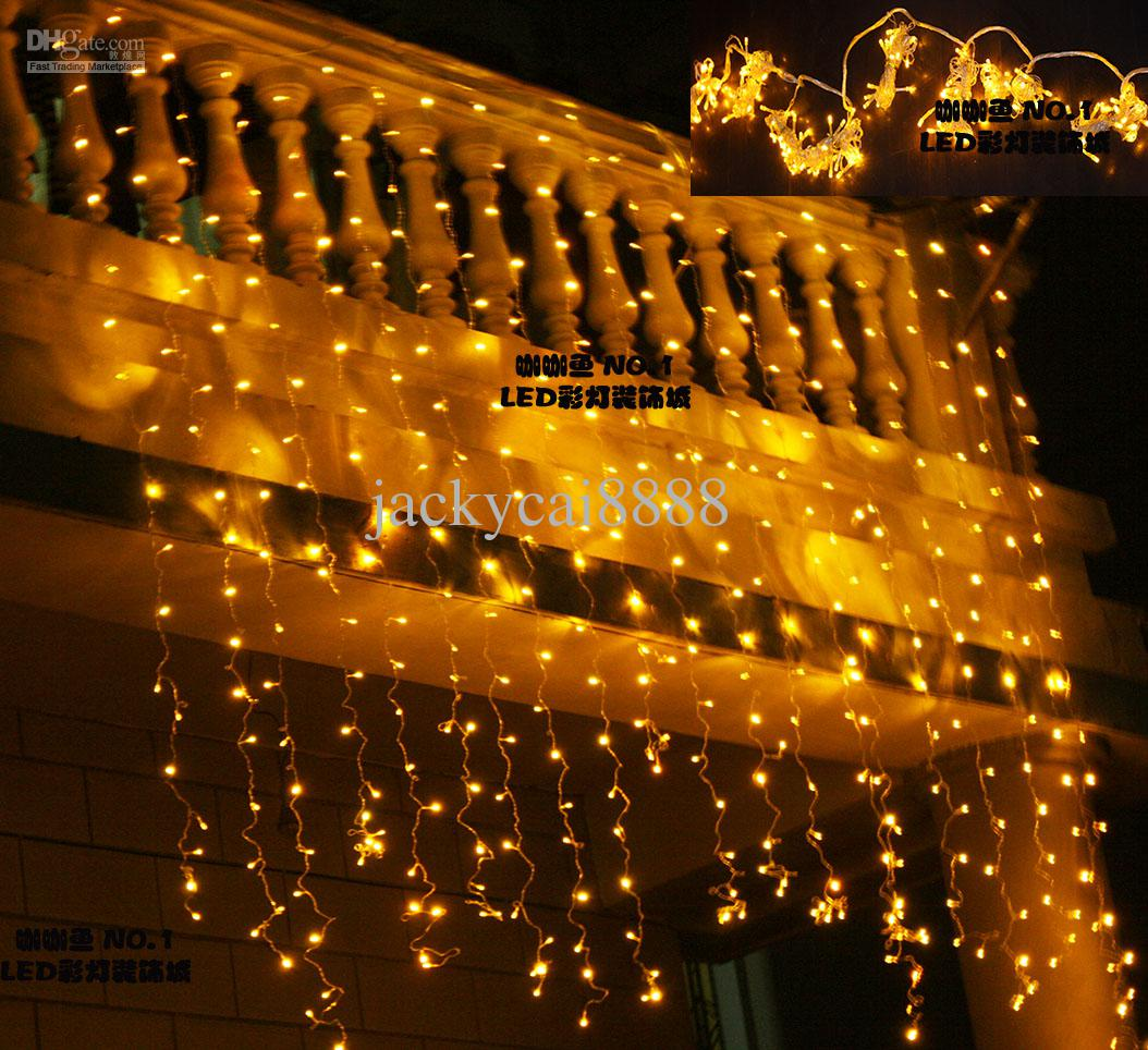 2018 Led Lights Curtain Lights Christmas Decoration Garden