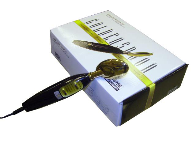 Microcurrent Galvânica Bio Face Lift Golden Spoon Deluxe Removedor De Rugas De Limpeza