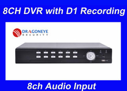 Wholesale 8ch Dvr Mobile Audio - 8ch standalone DVR with D1 recording, 8ch Audio Input, Networking, Mobile Phone monitoring, MAC syst