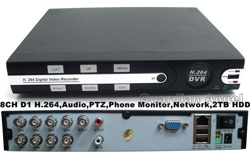 8 channel d1 h 264 cctv dvr recorder ptz phone monitor network rh dhgate com Swann 960H Pro Series 8CH DVR Security System