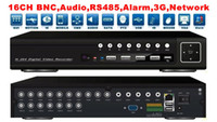 Wholesale Standalone Dvr 16 Channel - Free Shipping 16 Channel H.264 Network CCTV Standalone DVR Recorder RS485,Audio,Alarm,Mobilephone mo
