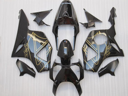 Wholesale cbr 954 fairings - All Black for Honda CBR900RR 954 CBR CBR954RR CBR954 2002 2003 02 03 fairing kit + kit en
