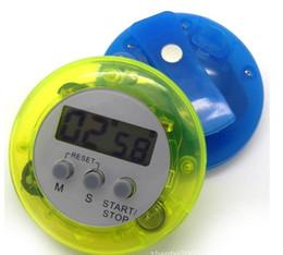 mini temporizador de cocina digital Rebajas Digital contador de tiempo de la cocina Mini LCD Cocina Cuenta hacia abajo Clip Timer Alarma