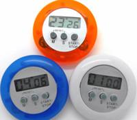 neuheit digitale küche timer großhandel-Neuheit digitaler Küchentimer Küchenhelfer Mini Digital LCD Küchen Countdown Clip Timer Alarm