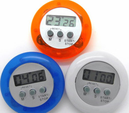venda por atacado Novidade digital temporizador de cozinha Auxiliar de cozinha Mini Digital LCD Cozinha Contagem Clipe Temporizador Alarme