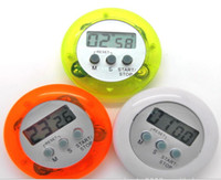 Wholesale clock timers for sale - Group buy Mini Digital LCD Kitchen Cooking Countdown Timer Alarm clock
