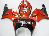 Wholesale Ninja Kawasaki Fairings 1996 - Orange ABS Plastic Fairing kit for KAWASAKI Ninja ZX7R 1996 - 2003ZX 7R ZZR 750 96 97 98 99 00 01 02