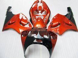 Kawasaki Ninja Orange Plastic Kit Canada - Orange ABS Plastic Fairing kit for KAWASAKI Ninja ZX7R 1996 - 2003ZX 7R ZZR 750 96 97 98 99 00 01 02