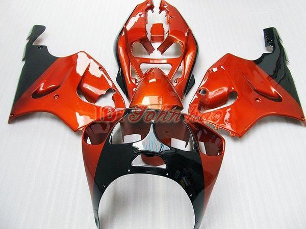 Orange ABS Plastic Fairing kit for KAWASAKI Ninja ZX7R 1996 - 2003ZX 7R ZZR 750 96 97 98 99 00 01 02