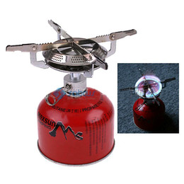 Wholesale Cookout Burner - Stainless Steel Electronic Strike Fire Ignitor Camping Stove for Camping Picnic Cookout Burner H220