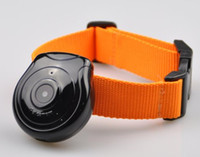 câmeras digitais venda por atacado-Nova câmera de visão do olho do animal de estimação para cães gatos digital clip-on colarinho pet video câmera digital cam