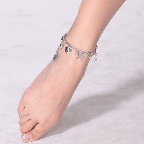 Heiße neue Schmuck Sets Bauchtanz Glocken Fuß dekoriert Tanz Fußkettchen Fuß Kette Bollywood tanzen Requisiten 444