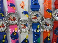Wholesale Cheap Christmas Watches - Christmas gift Watches Cute Finding Nemo 3D Mixed Cheap Wholesale! 10pcs lot Children watch cartoons Quartz