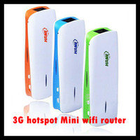 Wholesale 3g Router Wholesale - 3 in 1 3G wifi Router 1800MAH Portable Power Pack Bank mini wifi AP