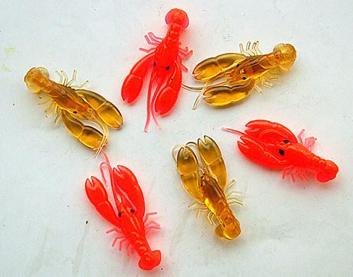 5cm 3g Soft Fishing Lure Soft Bait Lobster Fishing Salt water fresh water