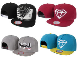 Wholesale Diamond Supply Cheap - Diamond supply CO baseball caps most popular Snapback Hats cheap online By People Being A New Fashion Trend