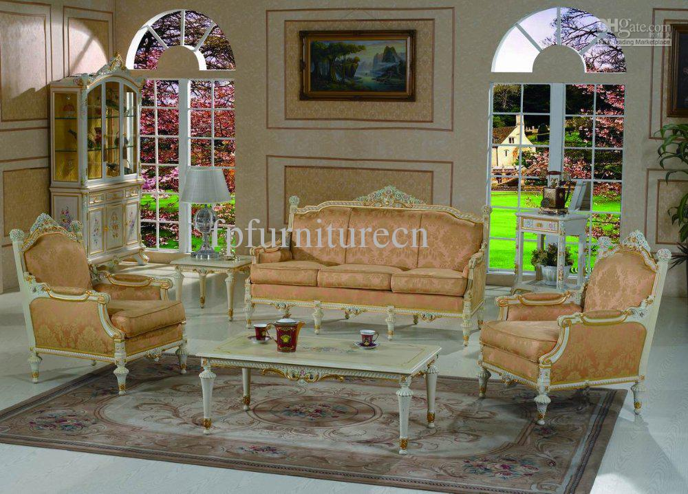 2019 Luxury Classic Home Furniture Luxury French Style Bedroom Furniture  Set French Style Sofa Hand Carved Solid Wood Sofa Set From Fpfurniturecn,  ...
