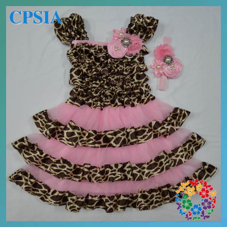 2018 Fancy Baby Dresses Petti Top Lace Dress Cheap Fancy Dress
