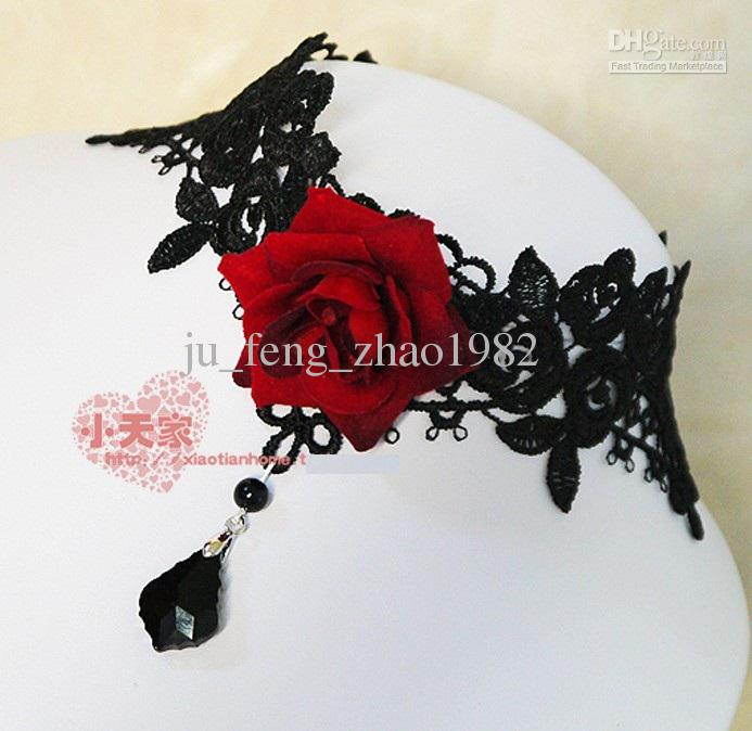 Red Lace Tiara
