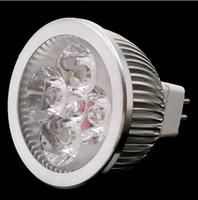 b22 4x3w led toptan satış-12W GU10 MR16 E27 GU5.3 B22 E14 Led Dim LED Gömme Spot Işık Lambalar 4x3W Sıcak Soğuk Saf Beyaz Ücretsiz Kargo downlightlar'ı