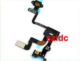 Flex Iphone 4s Original Canada - Original New Proximity Light Sensor Power Flex Ribbon Cable for iPhone 4S Replacement Parts 50pcs lot