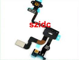 Flex Iphone 4s Original Canada - Original New Proximity Light Sensor Power Flex Ribbon Cable For iPhone 4S 10pcs lot