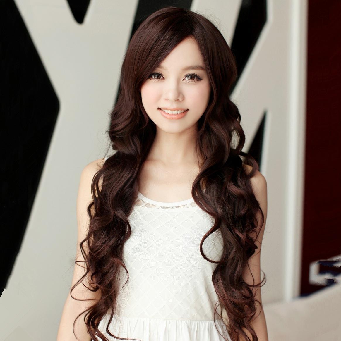 Big Curled Long Hair wig long curly hair wig