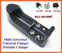 Wholesale Aa D - Free shipping+18650 Charger Battery 9V 14500 16340 C D 123A AA AAA Multi-function charger