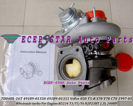 2020 turbocompressor para volvo Turbo TD04HL TD04HL-16T 49189-01350 49189-01355 8601238 1275663 Turbocompressor Para VOLVO 850 R T5 S70 V70 C70 1997-05 B5234 N2P23HT 2.3L 240HP desconto turbocompressor para volvo