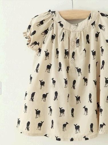 2016 sommer baby kleid Marke kinder kleidung kitz bowknot baby shirts röcke mädchen t-shirts kinder topwear