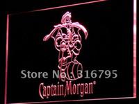 Wholesale Rum Signs - a138-r Captain Morgan Spiced Rum Bar NR Neon Light Sign