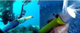 Опт 60м факел Подводные 240 LM CREE Q5 светодиодный водонепроницаемый фонарик Дайвинг Дайв