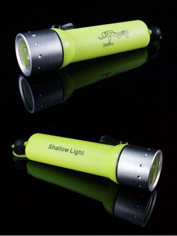 60M الشعلة تحت الماء 240 LM كري Q5 LED الغوص للماء مضيا الغوص