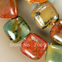 """Wholesale 14mm Loose Beads - Wholesale 14mm Multi-Color Picasso Loose Beads Beads 15"""" 2pc lot fashion jewelry"""